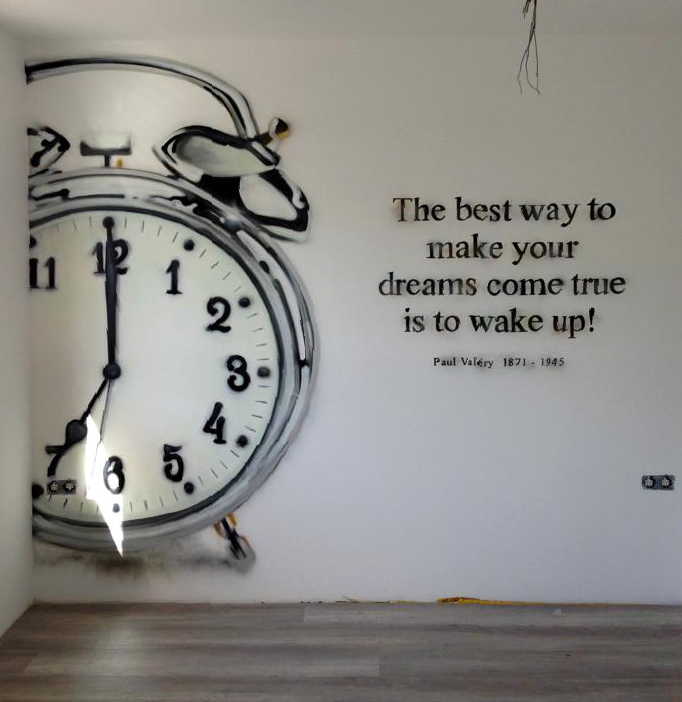 Wekker , The Best Way To Make Your Dream Come True Is To