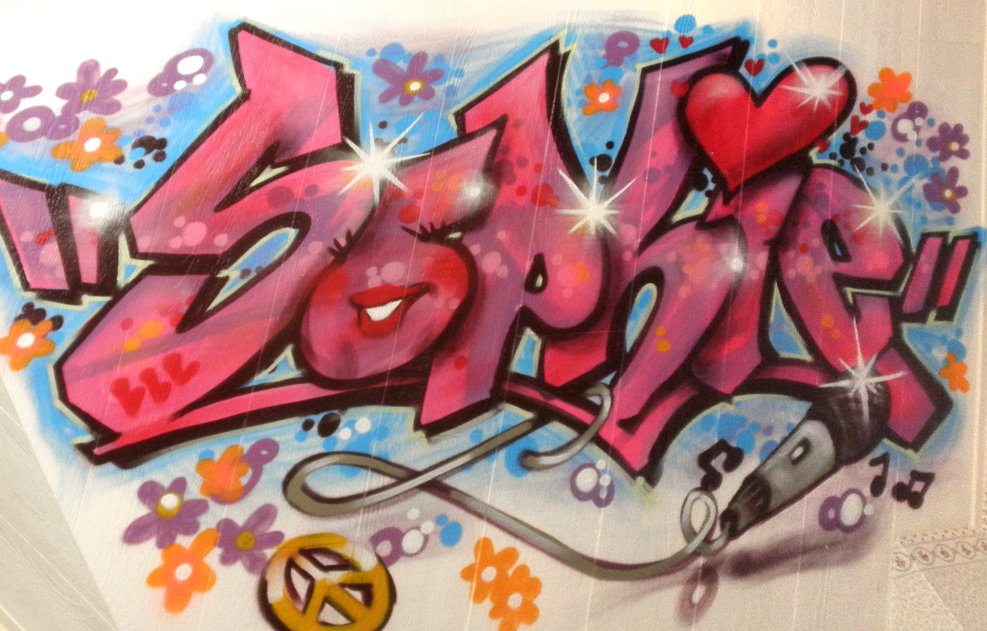 48+ Awesome Graffiti & SprayPaint Stencils for your Inspiration!